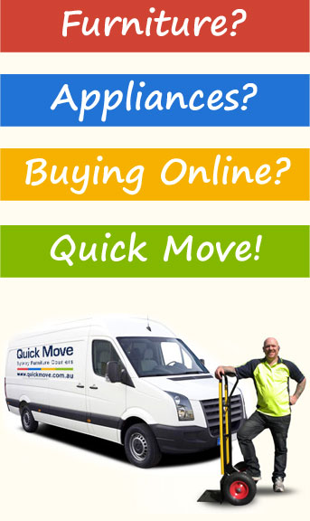 Ebay furniture delivery service courier removalists for Furniture quick delivery