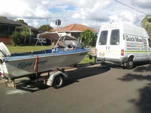 Boat courier & delivery
